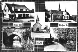 Gruss Au - Bonjour De Recht (multi Vues, Edit. D Lecoq 1971) - Saint-Vith - Sankt Vith