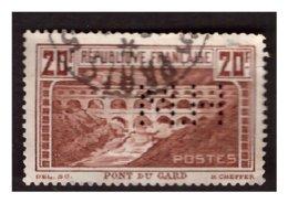 Pont Du GARD N° 262A Obl. Perf H M - Frankreich