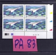 TP N°PA83 X 4**  COIN DATE DU 24.01.19 - 2010-....
