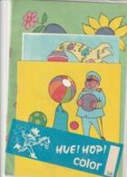 Rare Livre à Coloriage Vintage Hue Hop Color De Jesca Sous Blister Jamais Ouvert Années 70-80 - Livres, BD, Revues