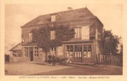 """¤¤   -   SAINT-MARDS-de-FRESNE   -  Café  -  Tabac  -  Epicerie Maison """" BROUTIN """"         -  ¤¤ - France"""