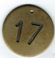 Luxbg Jeton/Token Militaires N°17 Diamètre 3,5cm - Luxembourg