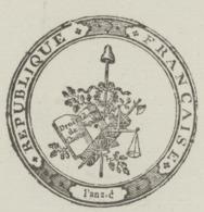 Héraldique Colmar An 2 -18.12.1793 Le Rep.du Peuple Signature Hérault Comité De Surveillance - Documents Historiques