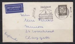 Bund Luftpost-Auslands-Drucksache Oberammergau/16.12.63 Mit EF 354y Nach England, Seltenes Porto - Cartas