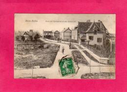 14 Calvados, RIVA-BELLA, Rues De L'Industrie Et Des Gondoles, Animée, 1910, (L. M.) - Riva Bella