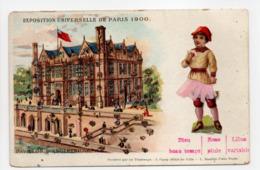 - CPA PARIS (75) - EXPOSITION UNIVERSELLE 1900 - PAVILLON D'ANGLETERRE - - Mostre