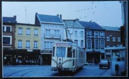 Gosselies Place Emile Bertaux Avec Tram (Reproduction - Photo) - Charleroi