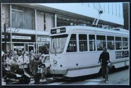 Bruxelles Avec Tram (Reproduction - Photo) - Vervoer (openbaar)