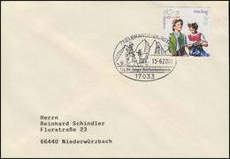 2192 Kinderbuch Heidi, EF FDC ESSt Neubrandenburg Geißenpeter & Ziege 13.6.2001 - Childhood & Youth