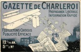 Belgique -  Charleroi - Gazette De Charleroi - Propagande Libérale - Information Rapide - Charleroi