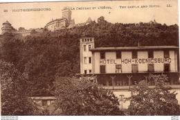HAUT KOENIGSBOURG LE CHATEAU ET L'HOTEL TBE - Francia