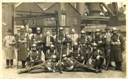 Belgique - Charleroi - Carte-Photo - Lodelinsart - Les Militaires  Protègent Les Usines - Charleroi