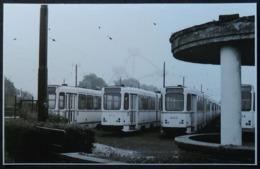 Bruxelles Heysel Avec Tram Et Atomium En Arrière Plan (Laeken) (Reproduction - Photo) - Vervoer (openbaar)