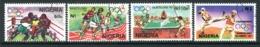 Nigeria 1992 Olympic Games, Barcelona Set Used (SG 619-622) - Nigeria (1961-...)