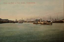 Vlissingen (Zld.) Haven Met Mail En Prov. Booten 1912 - Vlissingen