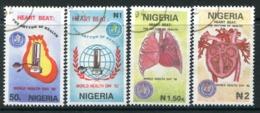 Nigeria 1992 World Health Day Set Used (SG 625-628) - Nigeria (1961-...)