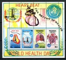 Nigeria 1992 World Health Day MS Used (SG MS629) - Nigeria (1961-...)
