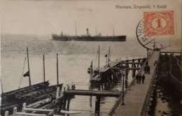 Vlissingen (Zld.) Zeegezicht - 't Hoofd (schip) 1909 - Vlissingen