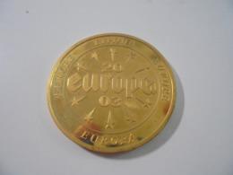MEDAILLE EUROPA DE BELGIQUE DE 2003 TRANCHE STRIEE - Belgique