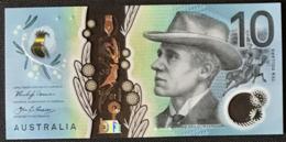 Australia P 63 - 10 Dollars 2017 - UNC - Emissions Gouvernementales Décimales 1966-...