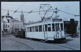 Blankenberge Met Tram (Reproduction - Photo) - Blankenberge