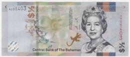 Bahamas P NEW - 1/2 Dollar 2019 - UNC - Bahamas