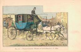 FIACRE CITADINE REGNE DE LOUIS PHILIPPE 1 Er 1830 CIRCULEE SOUS ENVELOPPE - Postcards