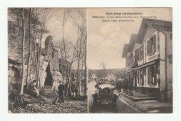 Luxembourg - Muellerthal - Grand Hotel Central Avec Heringerburg ( Lentz Jean, Propriétaire ) - Cpa 1923 - Muellerthal
