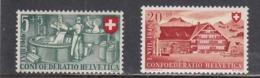 Switzerland 1946 - Pro Patria:cheese-making, Architekture, Mi-Nr. 471, 473, MNH** - Switzerland