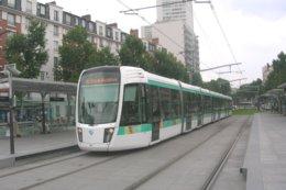 Paris (75) 07/06/2007 - Tramway De Paris - La Rame N°301 à Destination Du  Pont De Garigliano - Ligne T3 - Transport Urbain En Surface