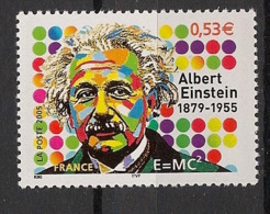 France - 2005 - N°Yv. 3779 - Albert Einstein - Neuf Luxe ** / MNH / Postfrisch - Nuevos