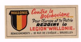 Légion Wallonie Contre Le Bolchevisme Léon Degrelle. RRR - Historische Dokumente