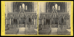 Stereoview - Hereford Cathedral - ENGLAND - By Francis Bedford - Stereoscopi