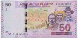 Bolivia NEW - 50 Bolivianos 2018 - UNC - Bolivia