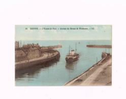 L'Entrée Du Port.Arrivée Du Bateau De Newhaven. - Dieppe
