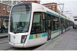 Paris (75) - Ligne 3 - Tramway Des Maréchaux - Rame Citadis 402 Alsthom.13 Avril 2007, La Rame N°318 Porte D'Ivry - Tramways