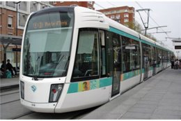 Paris (75) - Ligne 3 - Tramway Des Maréchaux - Rame Citadis 402 Alsthom.13 Avril 2007, La Rame N°318 Porte D'Ivry - Transport Urbain En Surface