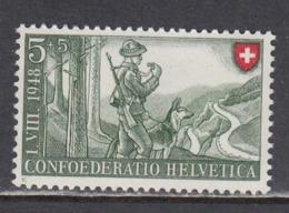 Switzerland 1948 -  Border Guards, Mi-Nr. 508, MNH** - Suisse