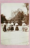SAINT MANDE (val De Marne) - Tennis (photo En 1909, Format 12,2 Cm X 8,4 Cm Environ) - Lieux
