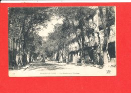 34 MONTPELLIER Cpa Petite Animation Le Boulevard Pasteur 156 ND - Jersey