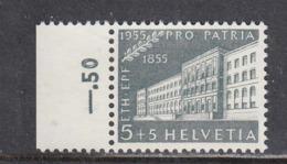 Switzerland 1955 - 100 Years Technical College Zurich, Mi-Nr. 613, MNH** - Suisse