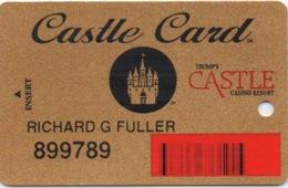 Carte De Membre Casino : Trump's Castle Card - Cartes De Casino