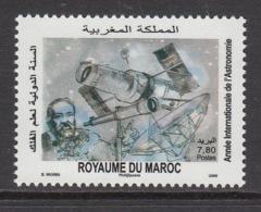 2009 Morocco Maroc  Astronomy   Complete Set Of 1   MNH - Maroc (1956-...)