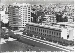 Maroc - CASABLANCA - La Place Lyautey- Carte Photo - Voir Scan - Recto,Verso - Carte Ancienne - Vierge - - Casablanca