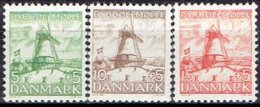 DENMARK  #  FROM 1937  STAMPWORLD 237-39** - 1913-47 (Christian X)