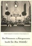 41593103 Osterroenfeld AUdorfer Kriegerkapelle 100-Jahresfeier Veteran Osterroen - Germania