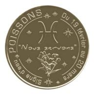 Monnaie De Paris , 2014 , Aubagne , Poissons , Signe D'eau Du 19 Février Au 20 Mars - Monnaie De Paris
