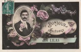 LES LILAS - Un Bonjour Affectueux Des ........ - Les Lilas