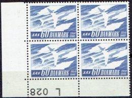 DENMARK  #  FROM 1961  STAMPWORLD 392A** FLUOR - Danimarca