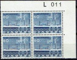 DENMARK  #  FROM 1962  STAMPWORLD 410A** FLUOR - Danimarca